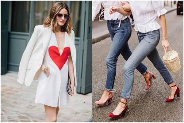streetstyleinspiration: Što je bijela bez malo crvene? - BONJOUR.ba -  bh.lifestyle magazin