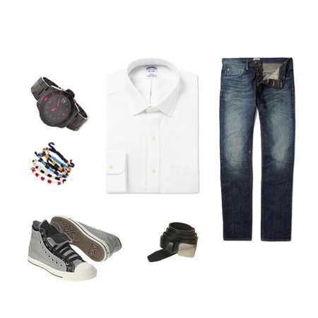 Muška bijela košulja na tri načina - BONJOUR.ba - bh.lifestyle magazin