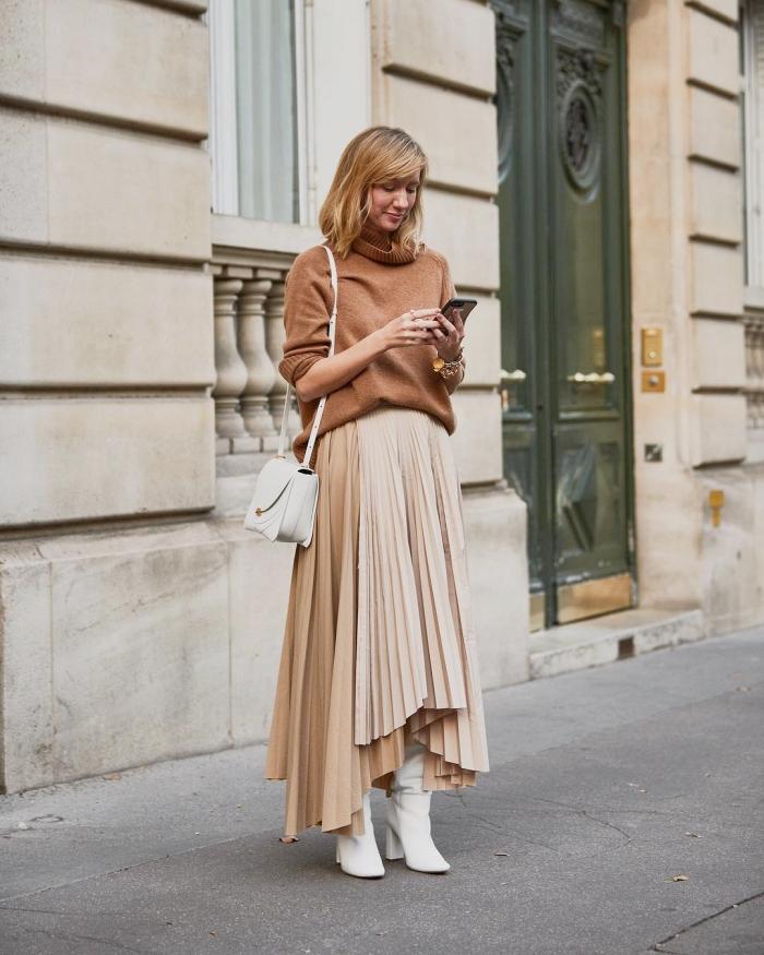 Plisirana suknja u 26 chic jesenskih kombinacija - BONJOUR.ba -  bh.lifestyle magazin